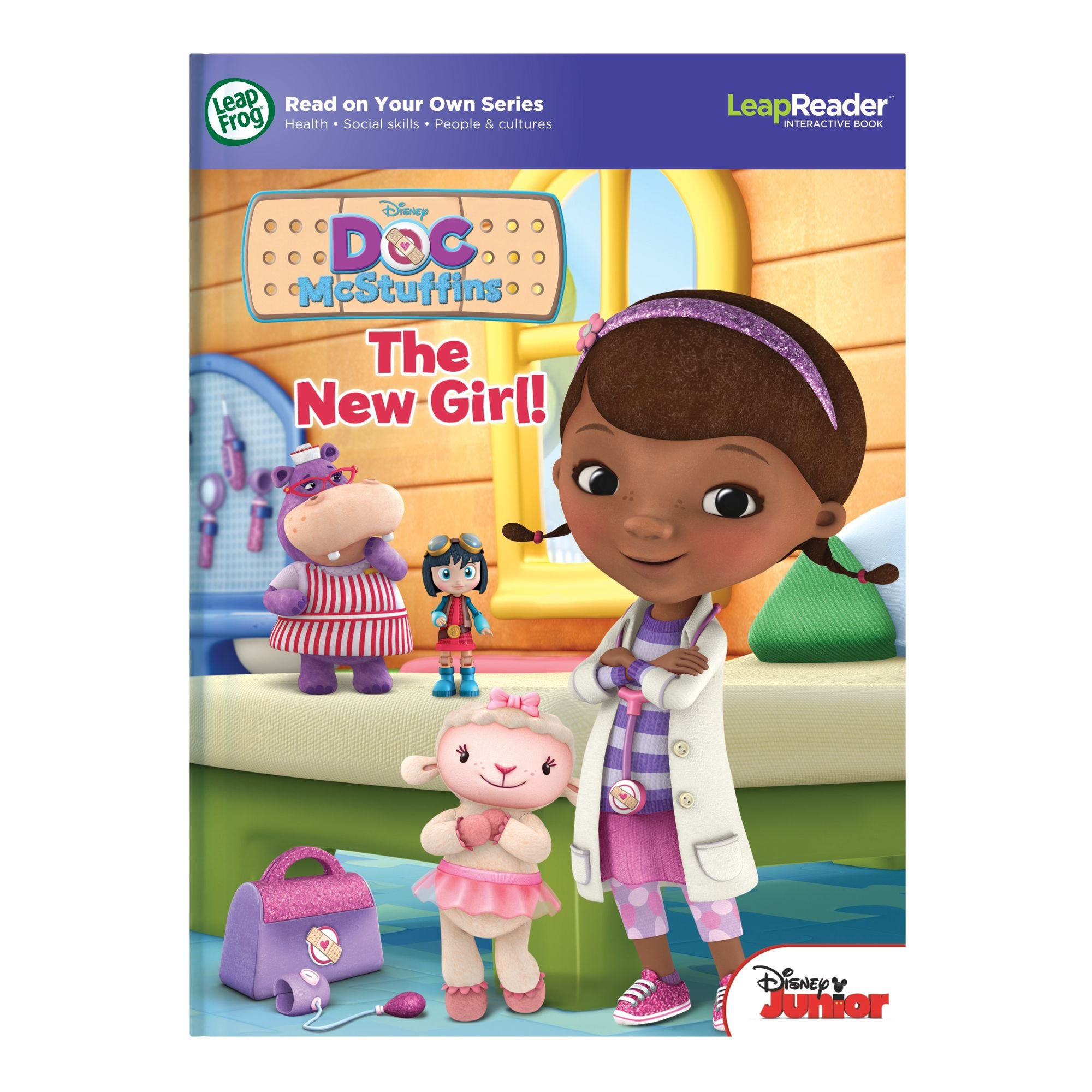 LeapFrog LeapReader: Disney Doc McStuffins: The New Girl Read On Your Own Book works with Tag by LeapFrog (Image #6)