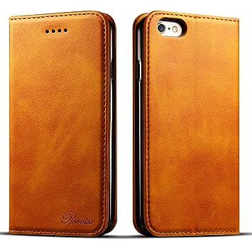 023b3de3aa iphone6s ケース 手帳型 iphone6ケース 手帳 Rssviss 耐衝撃 耐摩擦 高級PUレザー 財布