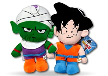 Dragon Ball Z Pack 2x Peluches Manga Anime Son Goku y Piccolo 30cm Peluche Songo Muñecos