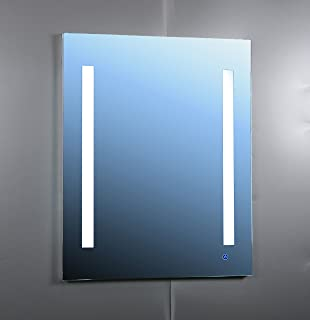 AQUADOM Royale Plus RP2430R Mirror Glass Cabinet For Bathroom With  Outlets Recessed U0026 Surface Mount