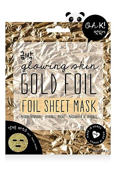 Gold Foil Sheet Mask - Gold foil Oh K! LX7WDRN