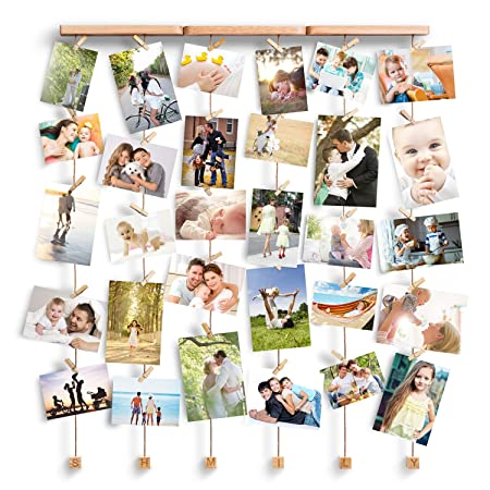 Love-KANKEI Multi Photo Frames/Wall Decorations with letter SHMILY ...