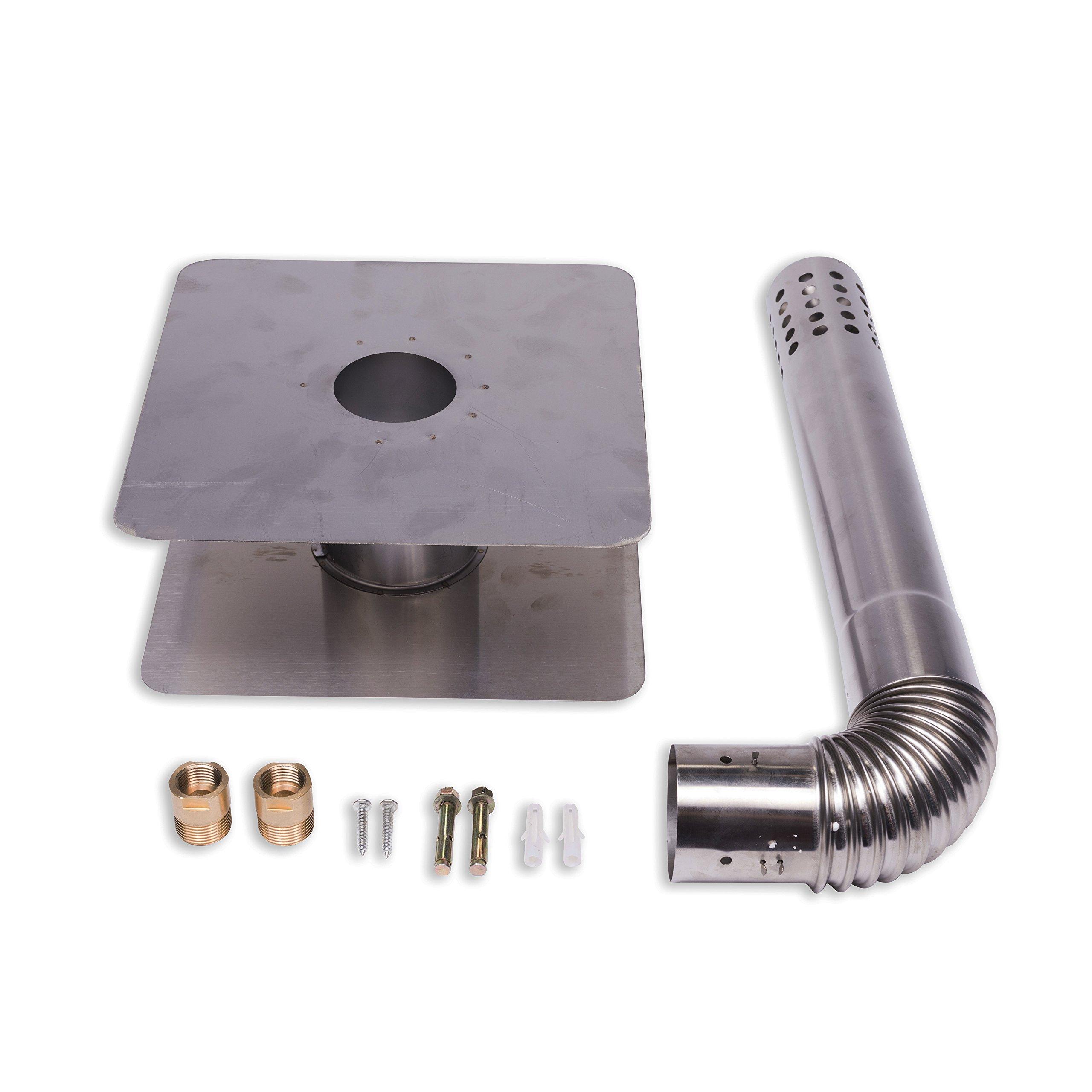 Eccotemp fvi12-NG FVI-12 Natural Gas, 3.5 GPM, High Capacity Tankless Water Heater, White by Eccotemp (Image #6)