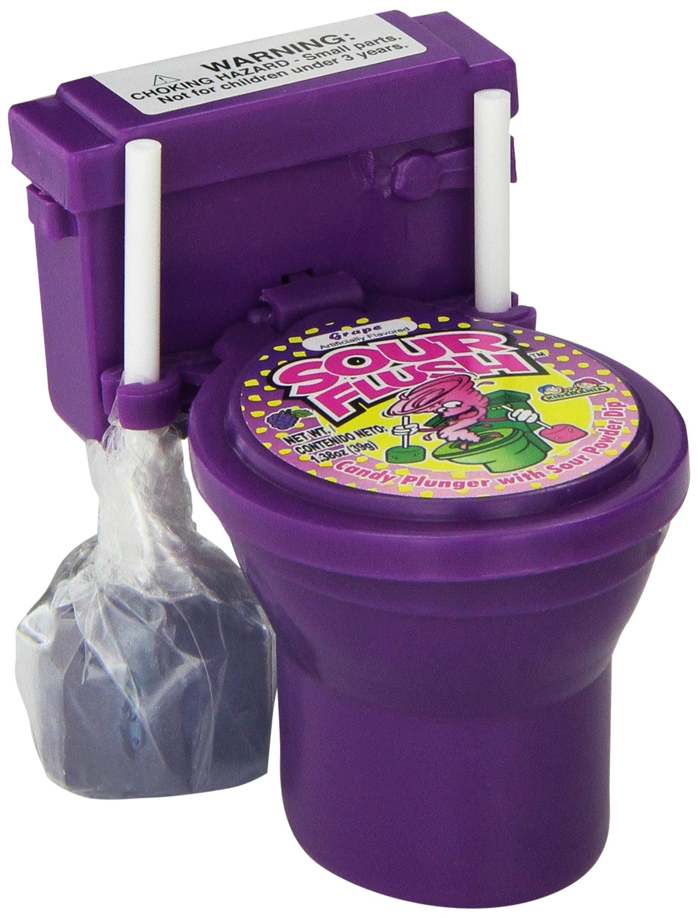 Sour Flush Candy Plugers And Powder Dip Toilet