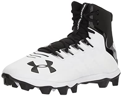 6102b8f6624e Under Armour Men's Renegade RM Wide Football Shoe, Black (001)/White,