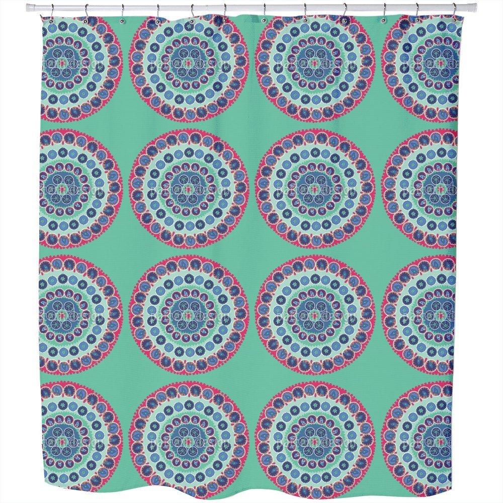 Uneekee Surkahndarya Shower Curtain: Large Waterproof Luxurious Bathroom Design Woven Fabric by uneekee (Image #1)