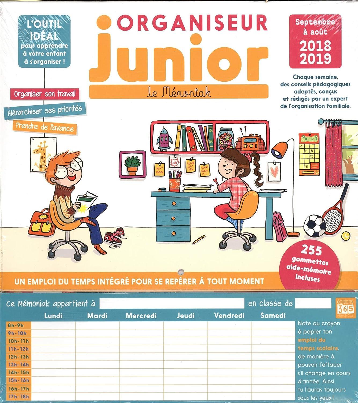 Organizador Junior memoniak 2018 - 2019: Collectif: Amazon ...