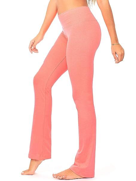e478ca530 Amazon.com  DEAR SPARKLE Bootcut Leggings for Women
