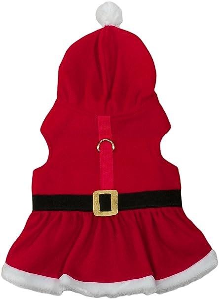 Friends Forever Santa Hoodie Cozy Waterproof Windproof Vest Winter Jacket  Coat Sweater Furry Collar Red Harness c9ea67b5da26