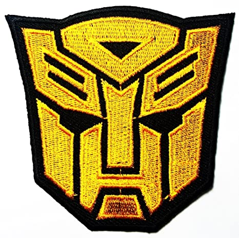 Transformers Autobot Character Patch Badge Iron-on Sew-on