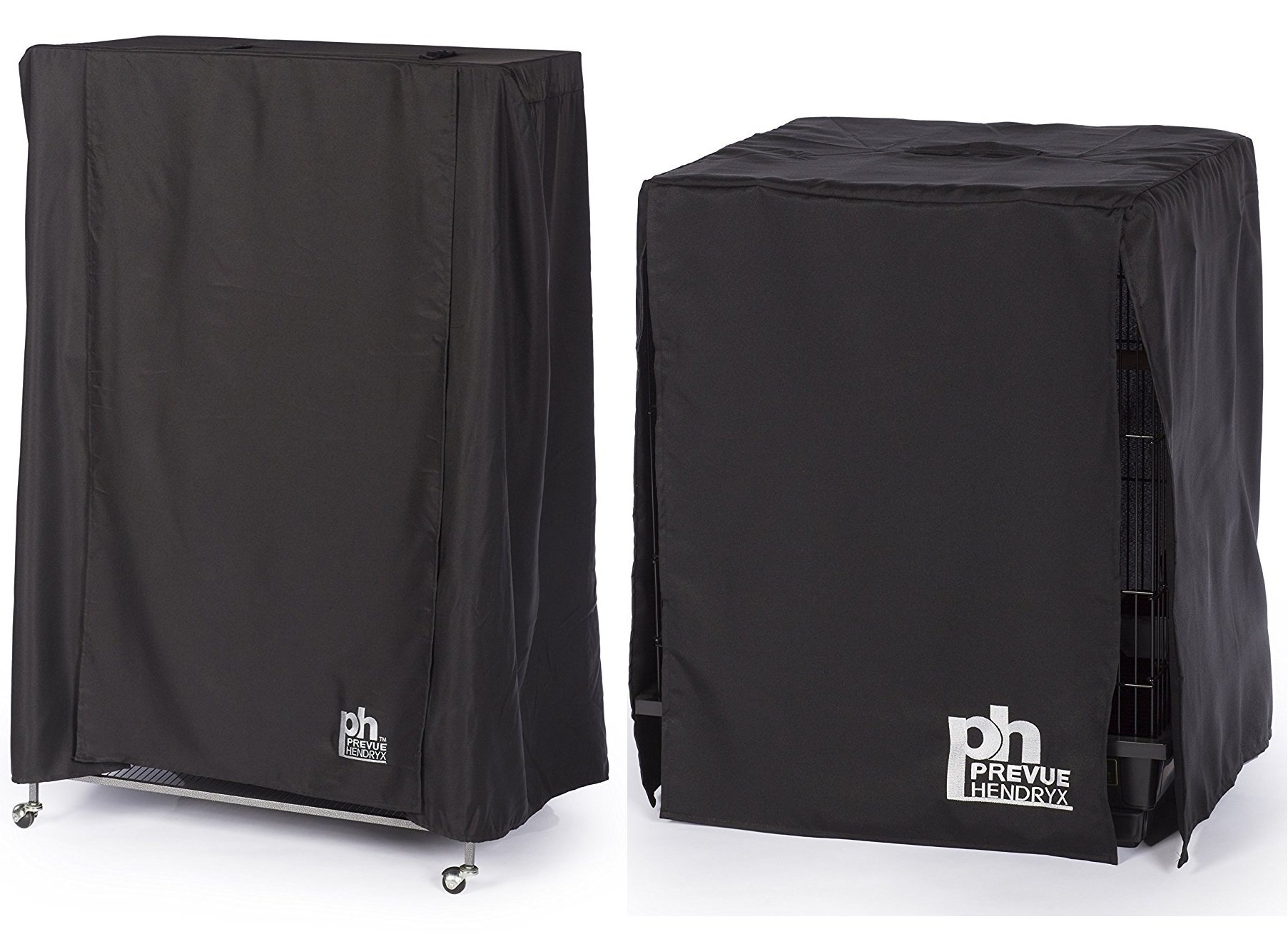 (2pc Bundle) Good Night Bird Cage Cover, Medium and Large by Prevue Hendryx