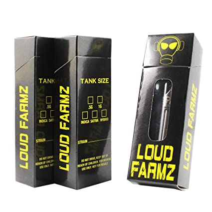 Loud Farmz Empty Flip Top Packaging Boxes by Shatter Labels VB-043 (100)