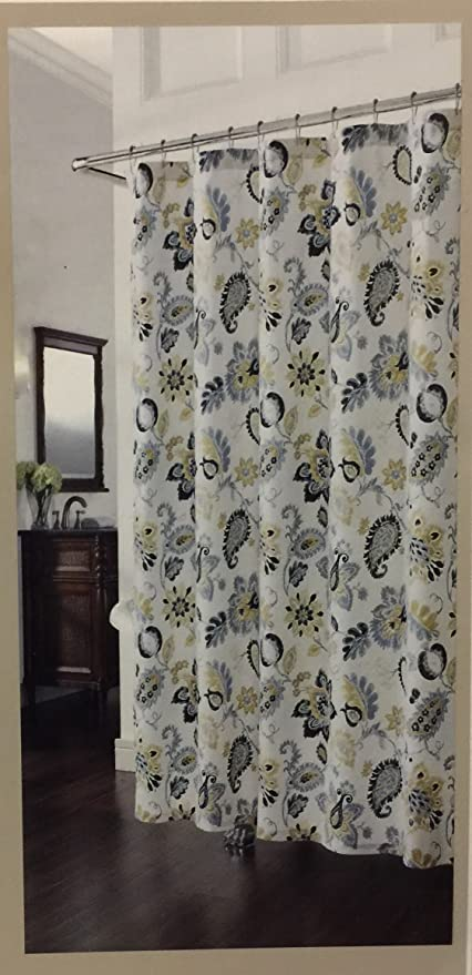 Richloom Home Fashions QuotChampaquot Shower Curtain