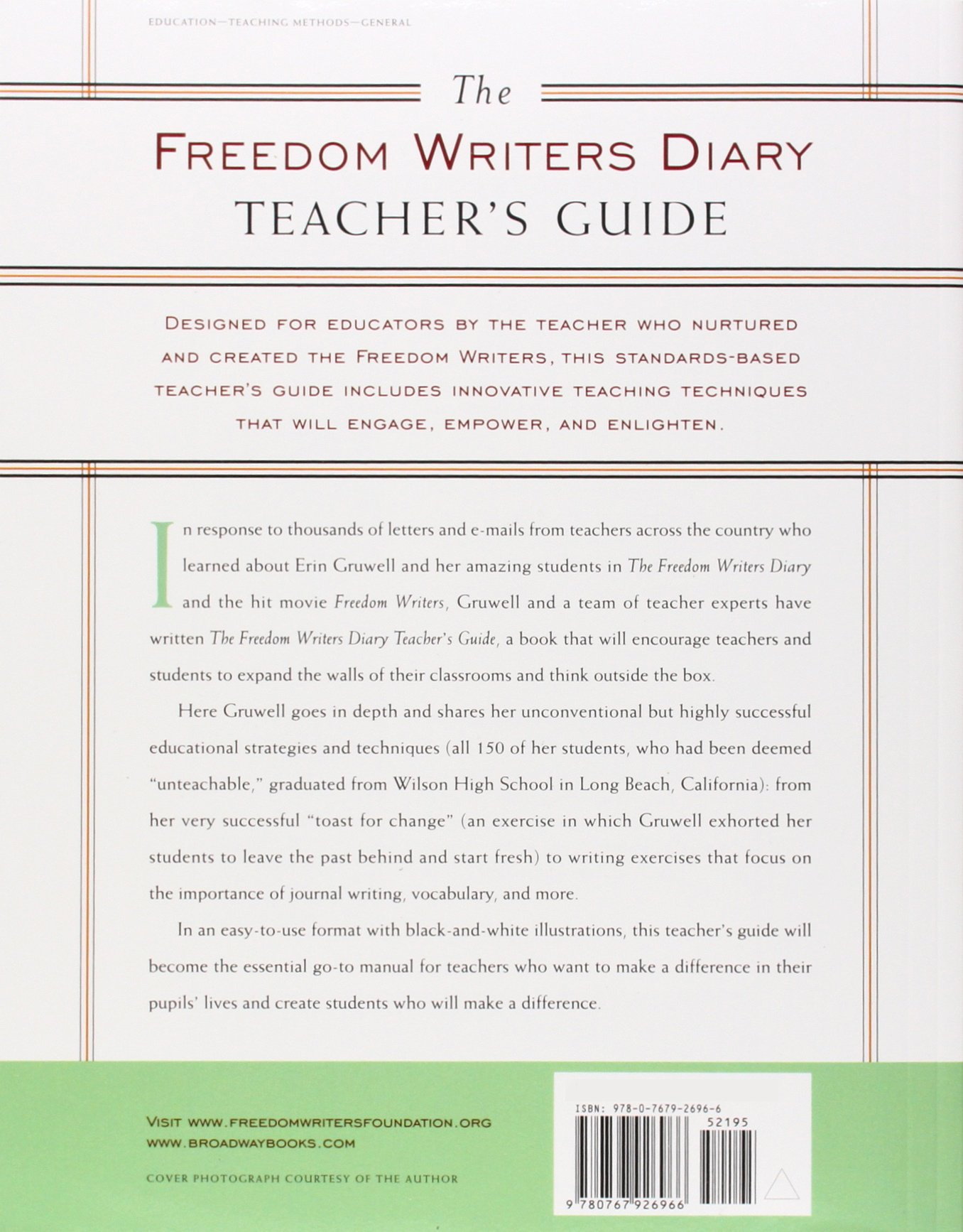 freedom writers essay topics Possible answers for six step analysis of freedom writers exposed 1 list all the different examples of belonging evident in the text: the students are clearly identified as belonging to an ethnic group, based on colour, race and ethnicity, e g the cambodians, the latinos, the african americans and the 'whites.