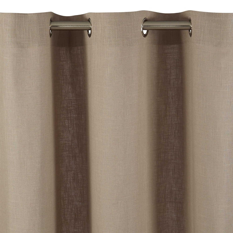 cool madura rideau oeillets bellevue beige x cm amazonfr cuisine u maison with rideaux madura. Black Bedroom Furniture Sets. Home Design Ideas