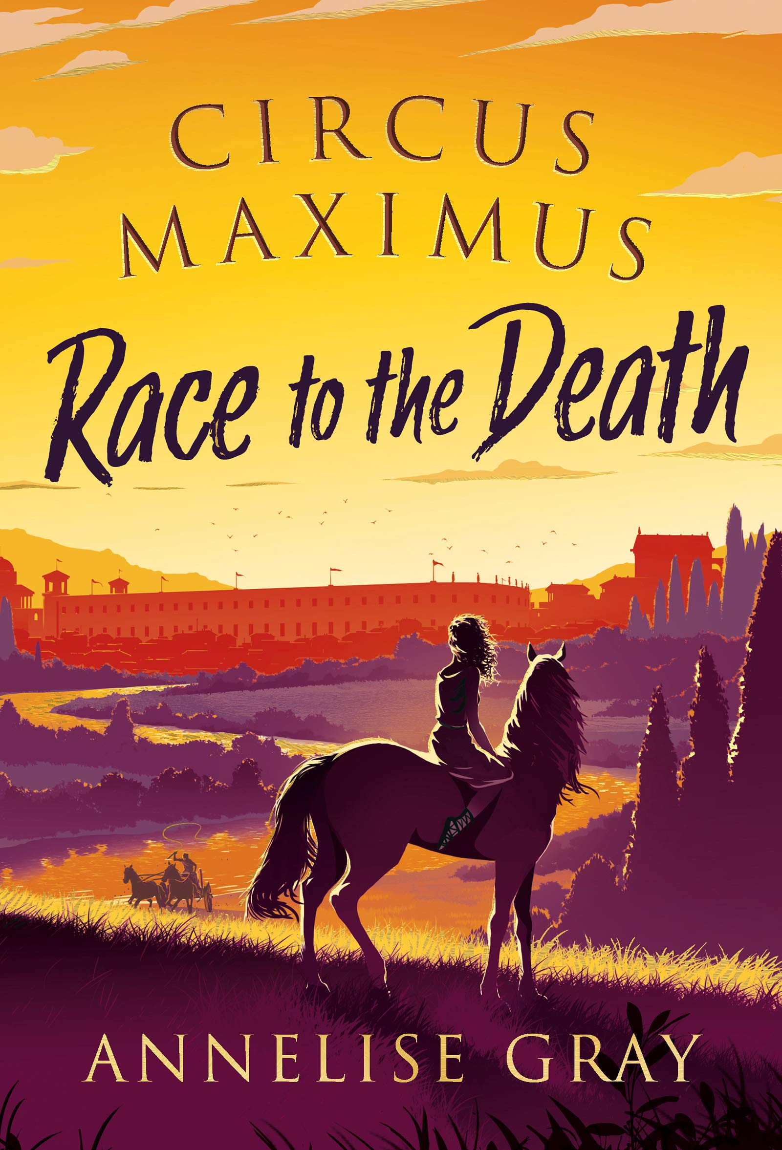 Circus Maximus: Race to the Death: 1: Amazon.it: Annelise Gray: Libri in  altre lingue