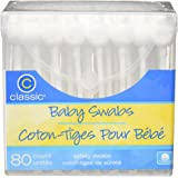 Classic Baby Swabs, 80 Count