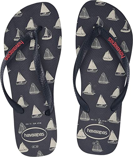 4a8b38594d2b7 Image Unavailable. Image not available for. Color  Havaianas Men s Top  Nautical Flip-Flops ...