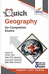 Quick Geography for Competitive Exams Kindle Edition