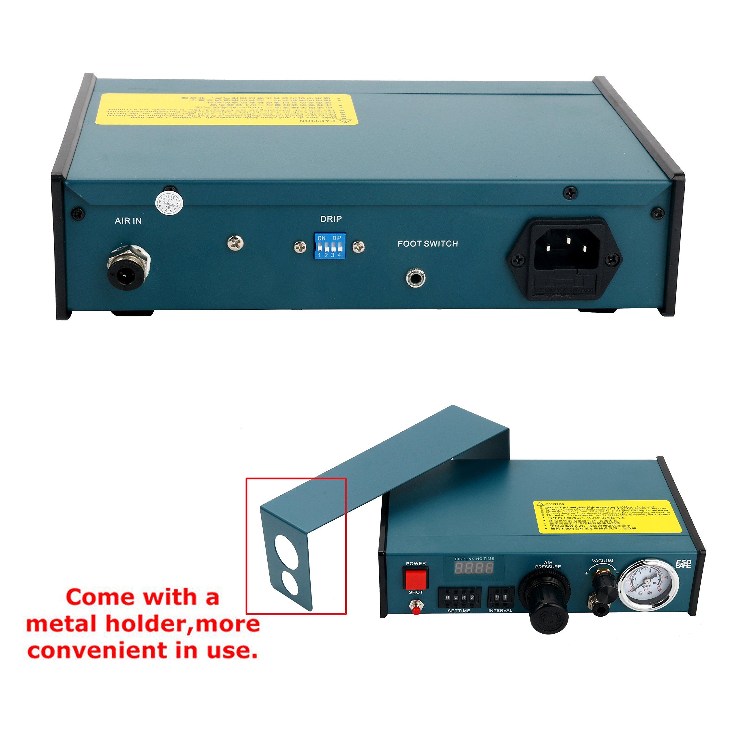 Digital Display Auto Glue Dispenser Solder Paste Liquid Controller Dropper 983A by YaeCCC (Image #3)