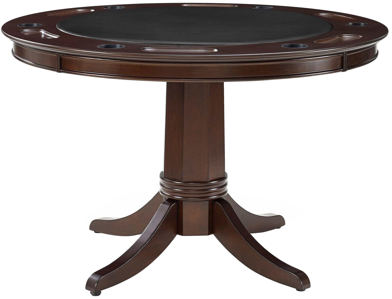 Crosley Furniture KF14003-RM Reynolds Game Table Rustic Mahogany