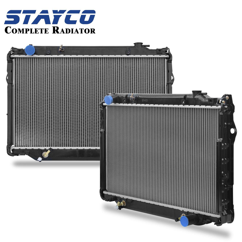 Stayco 2 Row Radiator 1917 For 1993 1997 Toyota La Lx450 Car Alarm Wiring Diagram Automotive