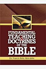 Fundamental Teaching And Doctrines Of The Bible Kindle Edition