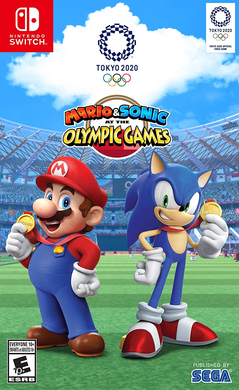 New Nintendo Switch Games 2020.Amazon Com Mario Sonic At The Olympic Games Tokyo 2020