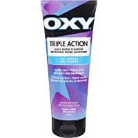 Oxy Triple Action Daily Facial Acne Cleanser with Salicylic Acid, For Mild Acne, For Frequent Recurring Breakouts, 162ml
