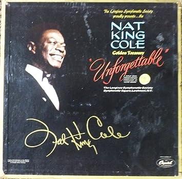 Nat King Cole Unforgettable Nat King Cole Golden Treasury 6 Album Box Set The Longines Symphonette Society Records Album Vinyl Lp Amazon Com Music