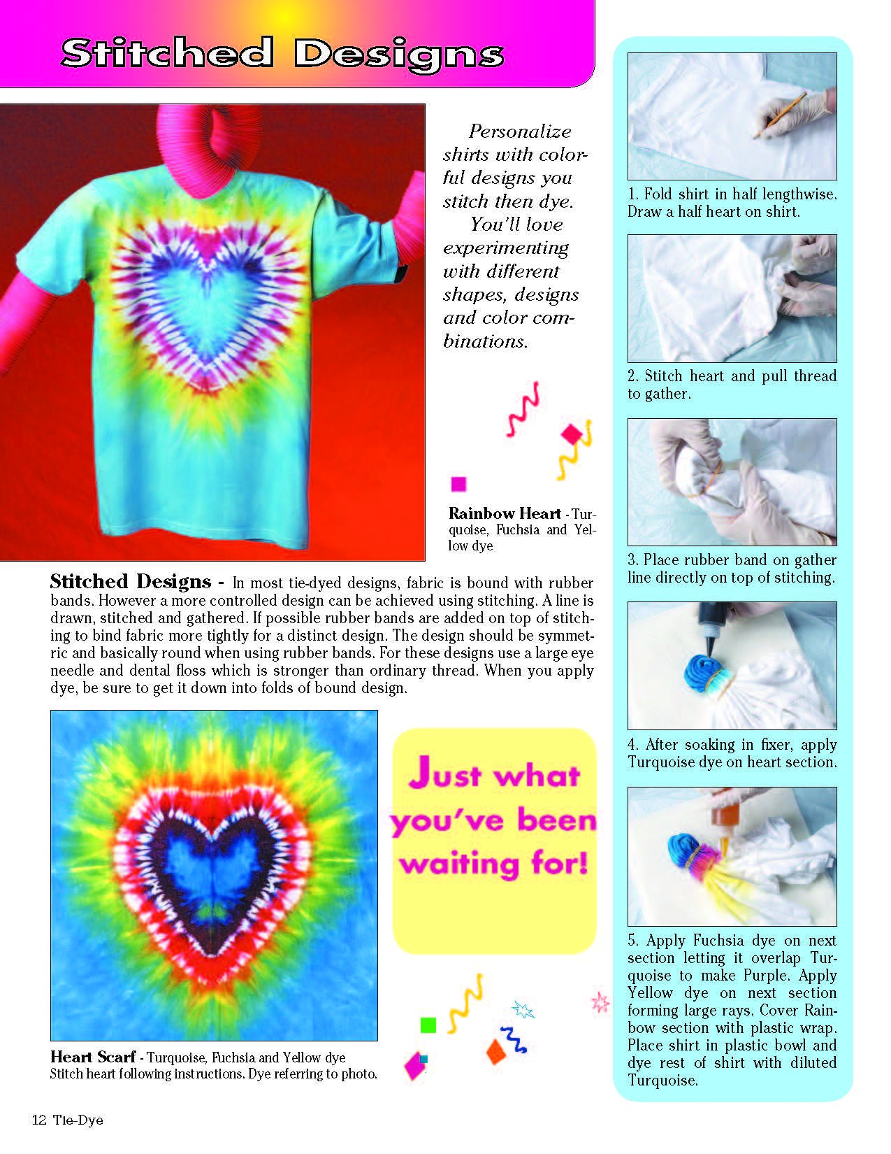 Tie Dye 101 How To Make Over 20 Fabulous Patterns Design Originals