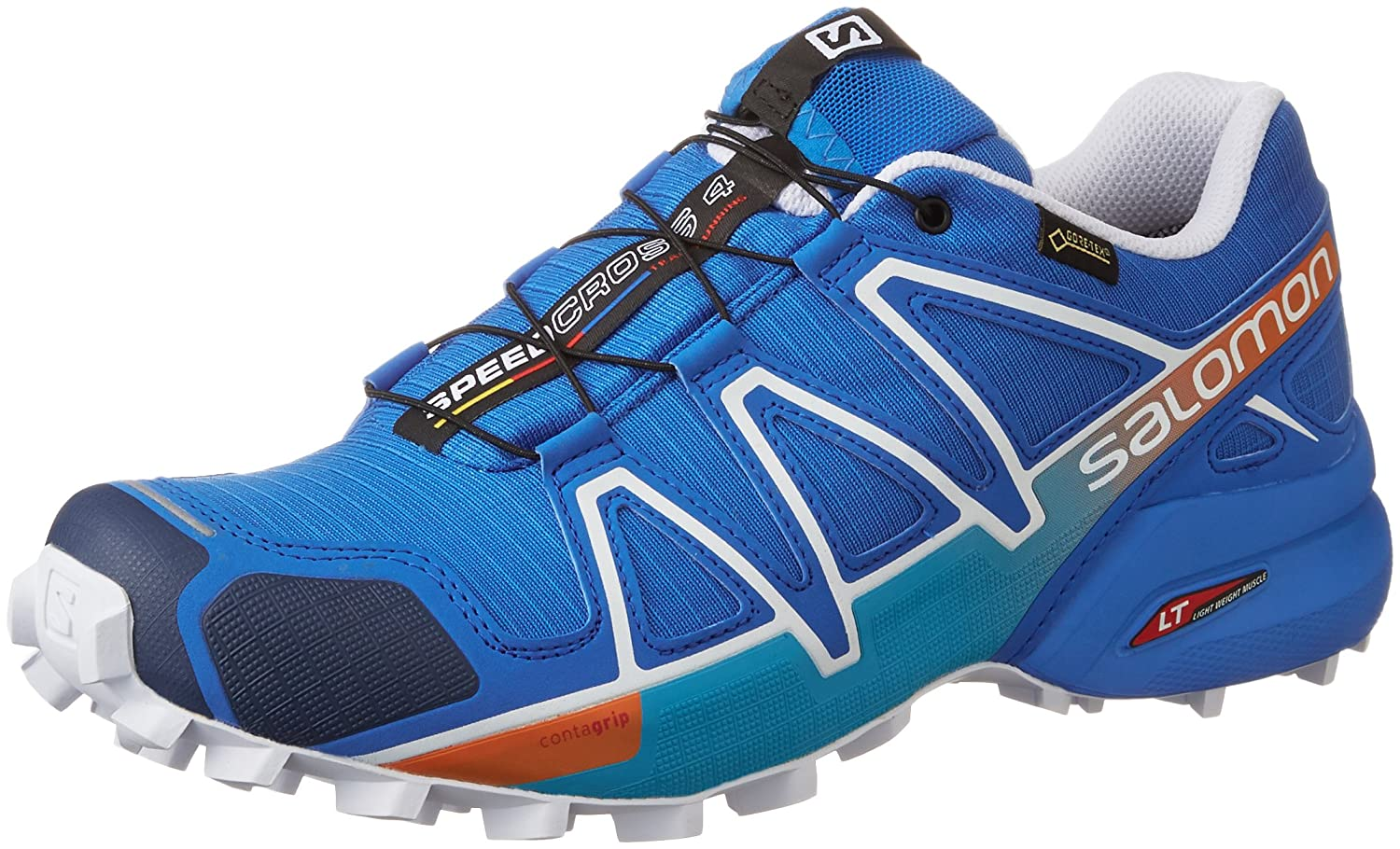 [サロモン] トレイルランニングシューズ SPEEDCROSS 4 GTX メンズ メンズ 27.5 Blue/White B01ETKGEHY BRIGHT BLUE/Union Blue/White 27.5 cm 27.5 cm|BRIGHT BLUE/Union Blue/White, 手紡ぎ 織り 羊毛 の ラメール:a578ca3c --- targaperformance.web5189.kinghost.net