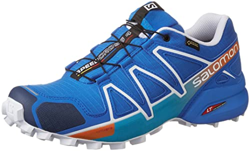 Salomon Speed Cross 4 Trail Running Schuhe Herren Blue
