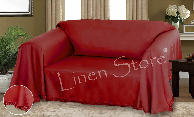 Amazon.com: Dixie Furniture Throw Cover, Fringe Bottom, Chair, 17 ...