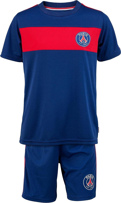Paris Saint Germain + Short – Camiseta Oficial Infantil fútbol ...