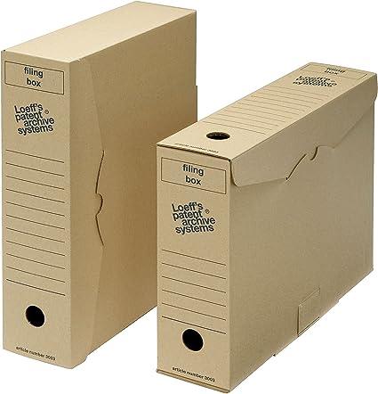Archivo archivador de caja de almacenaje – tamaño folio: Amazon.es ...