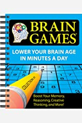 Brain Games: 1 (Brain Games (Numbered)) Spiral-bound