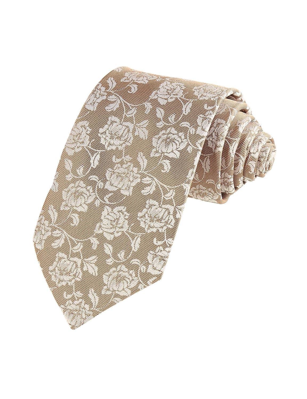 Zeela Herren Klassische Krawatte Jacquard Muster Strickkrawatte Business Hochzeit Modisch