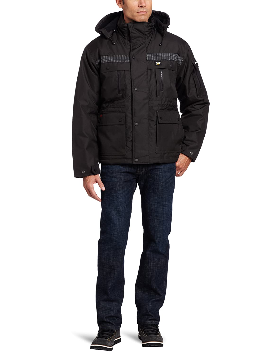 Caterpillar Mens Heavy Insulated Parka CAT Men/'s Sportswear /& Accessories W11432