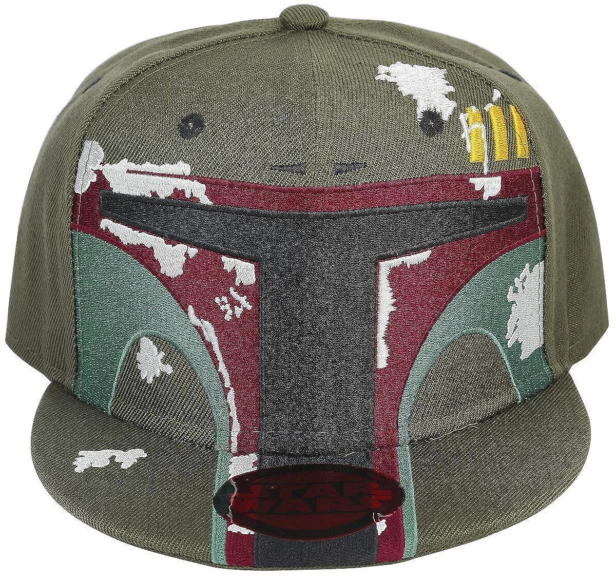 Star Wars Boba Fett Snapback-Cap gr/ün