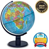 "Waypoint Geographic Scout 12"" Globe Globe For Kids & Teachers - More than 4, 000 name Places - Great Color & Unique Construction - Up-To-Date World Globe - with Stand"