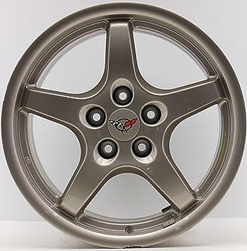 1 Original Corvette Magnesio Llanta Aluminio Llanta 9592639 9,5 x 18 ET65 sl1019 ef1198: Amazon.es: Coche y moto
