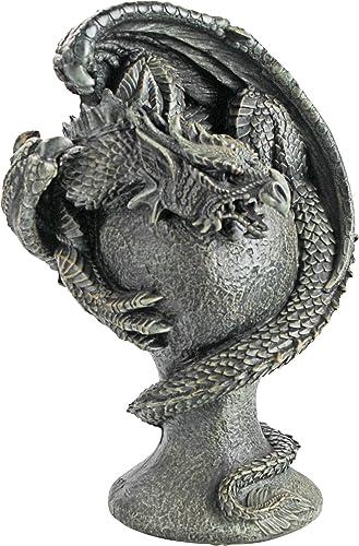 Design Toscano JE1121520 Mystic Dragon Avenger Statue,greystone