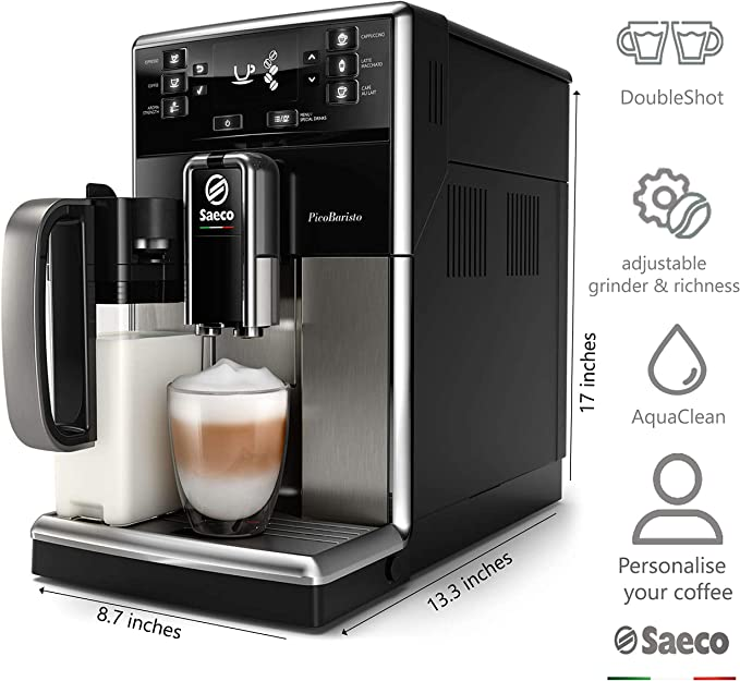 Saeco súper automática SM5479/10 Cafetera (Independiente, Máquina ...