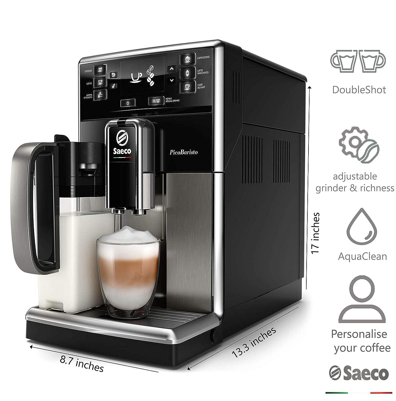 Amazon.com: Saeco - Cafetera espresso súper automática con ...