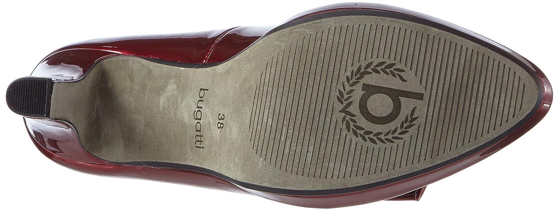 Bugatti Damen 330) V4964pr6l Pumps Rot (Bordo 330) Damen 2c5cad