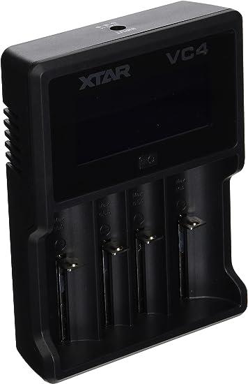 XTAR VC4 PREMIUM Quality USB LCD Charger For 1.5 4.2 V  Li-ion Batteries 3.7