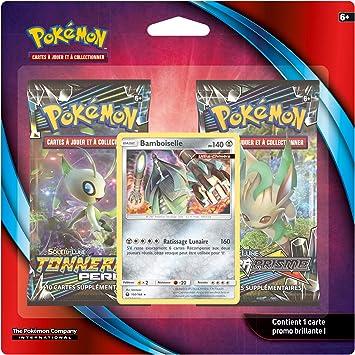 Pokemon Pack 2 Boosters, 2 packjan19, cartas collextionner , color ...