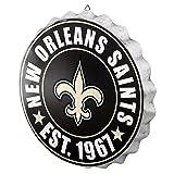 New Orleans Saints 2016 Bottle Cap Wall Sign
