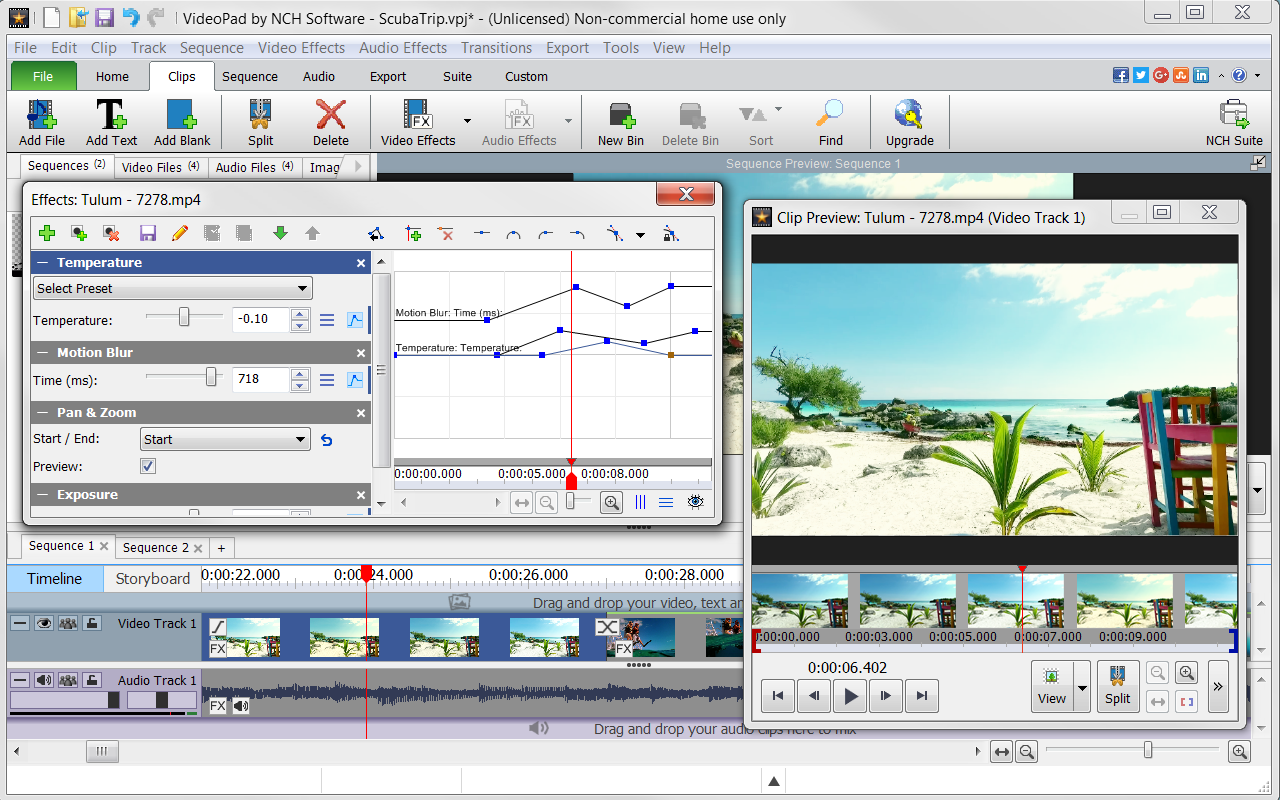 videopad free trial download